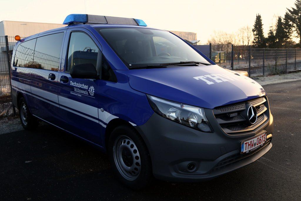 Mannschaftstransportwagen des THW-Ortsverbands Vlotho